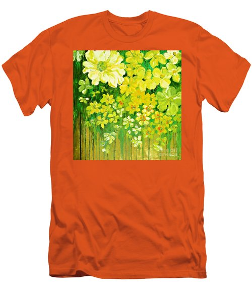 This Summer Fields Of Flowers Men's T-Shirt (Athletic Fit)
