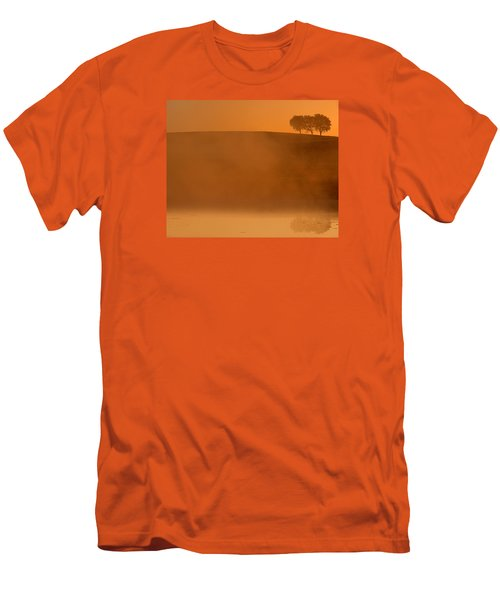 Three Trees  Men's T-Shirt (Slim Fit) by Don Spenner