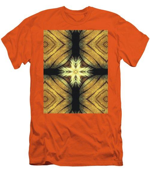 Tiger Cross Men's T-Shirt (Slim Fit) by Maria Watt