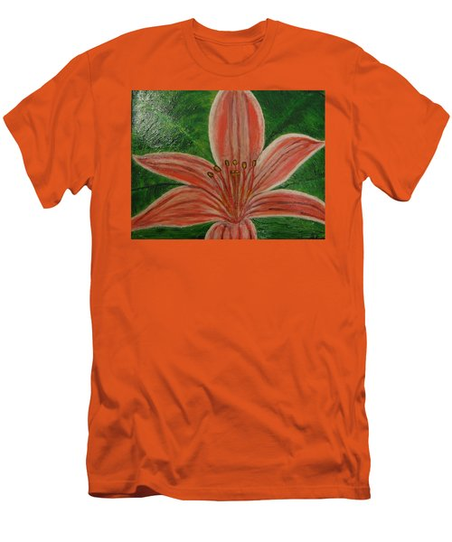 Tiger Lilly Men's T-Shirt (Slim Fit) by Barbara Yearty