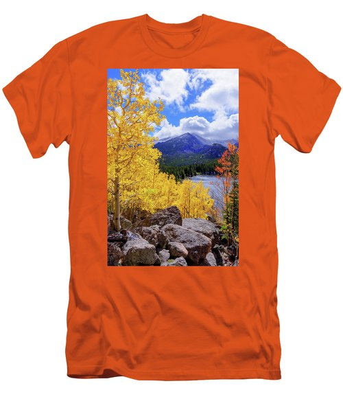 Men's T-Shirt (Slim Fit) featuring the photograph Time by Chad Dutson