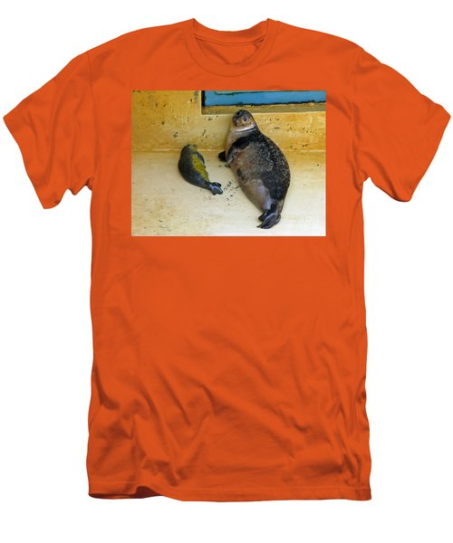 Tired Of Tourists. No Flash Photography Please.  Men's T-Shirt (Athletic Fit)