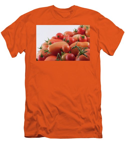 Men's T-Shirt (Athletic Fit) featuring the photograph Tomato Hill by James BO Insogna