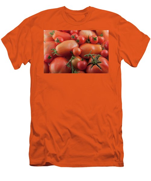 Men's T-Shirt (Athletic Fit) featuring the photograph Tomato Mix by James BO Insogna