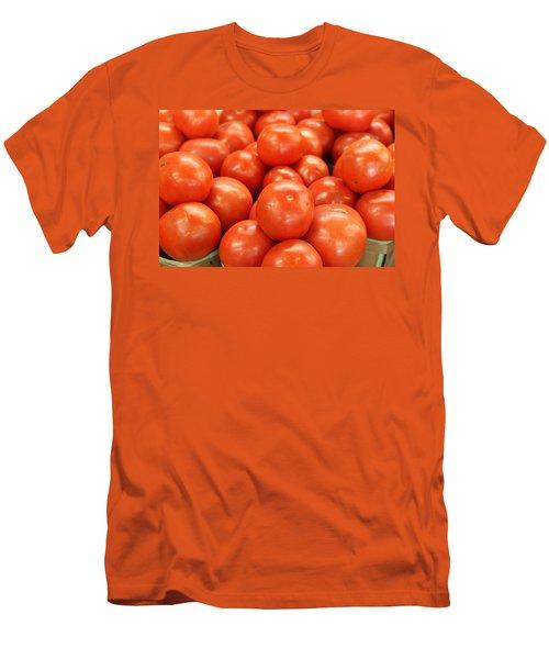 Tomatoes 247 Men's T-Shirt (Slim Fit) by Michael Fryd