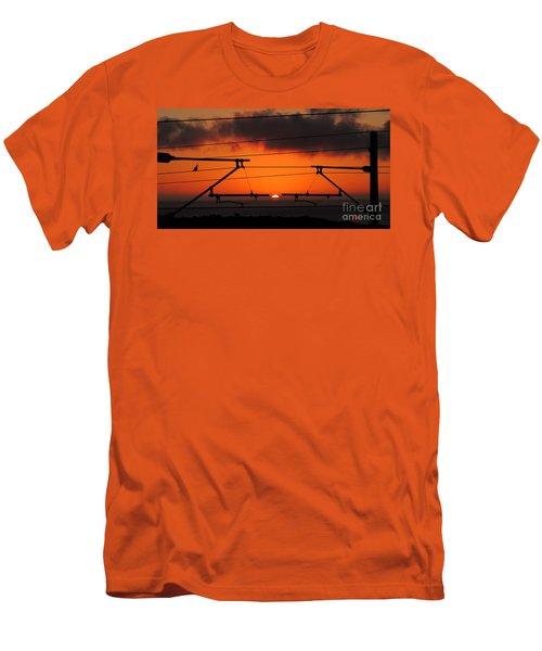 Men's T-Shirt (Slim Fit) featuring the photograph Top Notch Spot by Linda Hollis