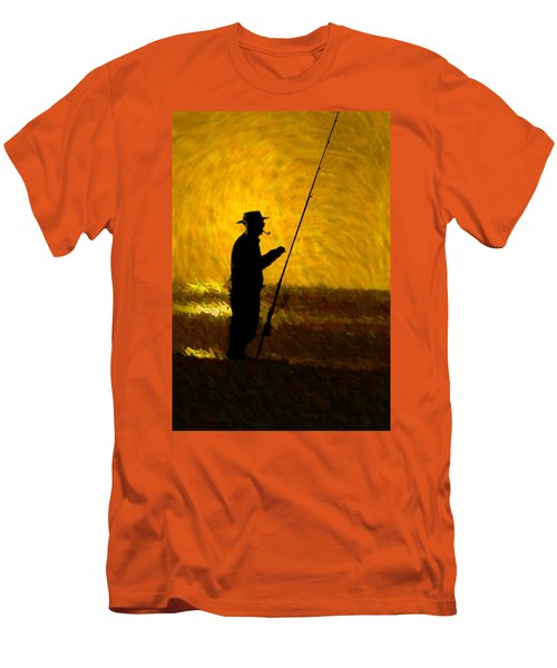 Tranquility Men's T-Shirt (Slim Fit) by Paul Wear