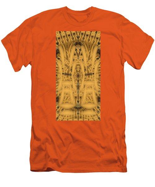 Shrine Men's T-Shirt (Slim Fit) by Ron Bissett
