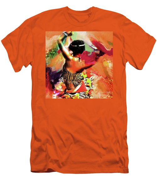 Tribal Dance 0321 Men's T-Shirt (Athletic Fit)