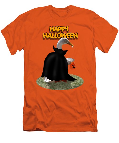 Trick Or Treat For Count Duckula Men's T-Shirt (Slim Fit) by Gravityx9  Designs