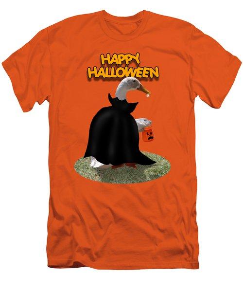 Trick Or Treat For Count Duckula Men's T-Shirt (Slim Fit)