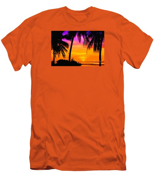 Tropical Delight Men's T-Shirt (Slim Fit) by Scott Cameron