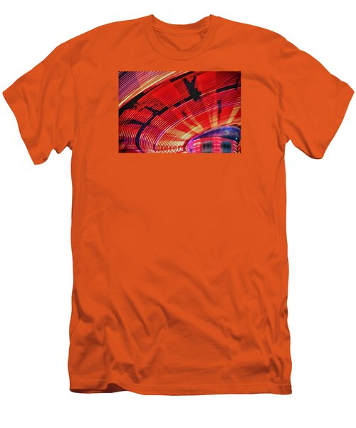 Men's T-Shirt (Slim Fit) featuring the photograph Tulare Fairgrounds by John Swartz