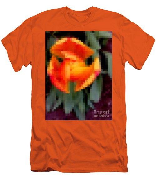 Tulip 1 Honoring Princess Diana Men's T-Shirt (Slim Fit) by Richard W Linford
