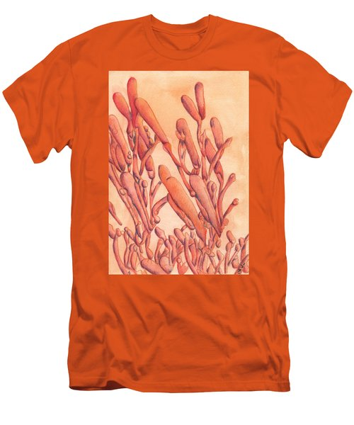 Firecracker  Men's T-Shirt (Slim Fit) by Versel Reid