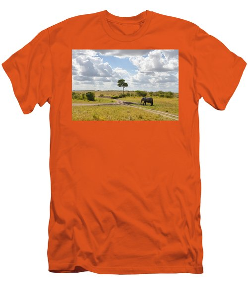 Tusker Scape Men's T-Shirt (Athletic Fit)