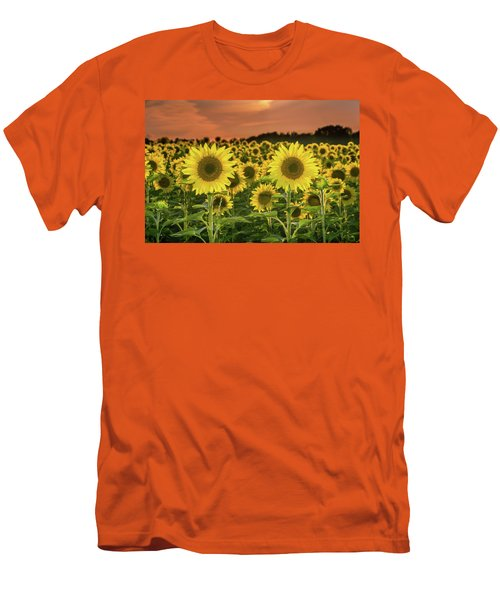 Men's T-Shirt (Athletic Fit) featuring the photograph Peaceful Opposition by Bill Pevlor