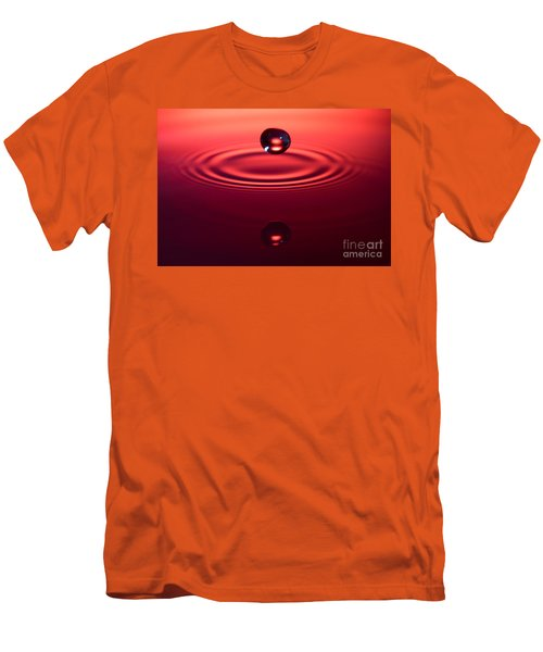 Two Drops And A Ripple Men's T-Shirt (Athletic Fit)
