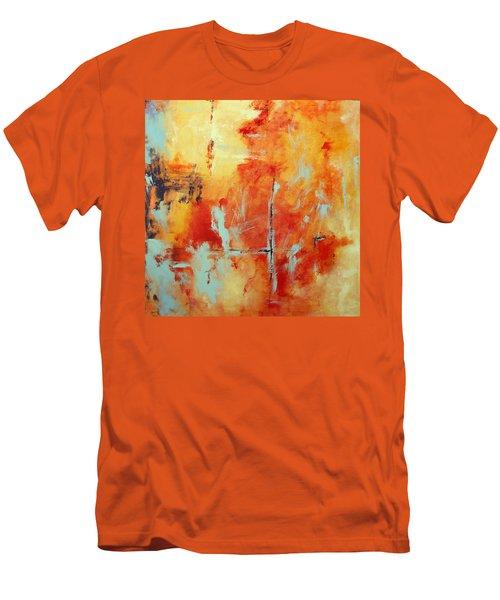 Uncharted Destination Men's T-Shirt (Slim Fit) by M Diane Bonaparte