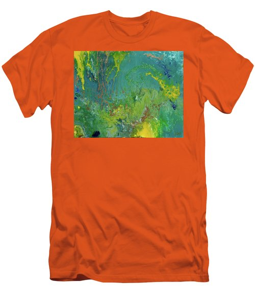 Underwater Paradise Men's T-Shirt (Athletic Fit)