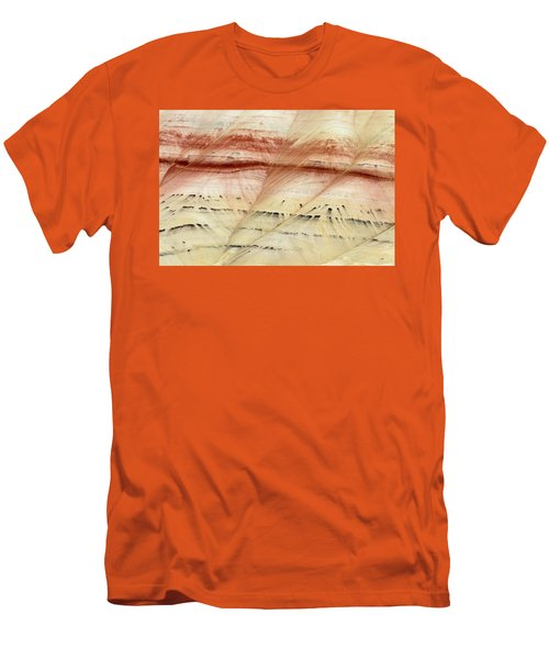 Up Close Painted Hills Men's T-Shirt (Slim Fit) by Greg Nyquist