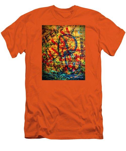 Urban Grunge Two Men's T-Shirt (Slim Fit) by Ken Frischkorn