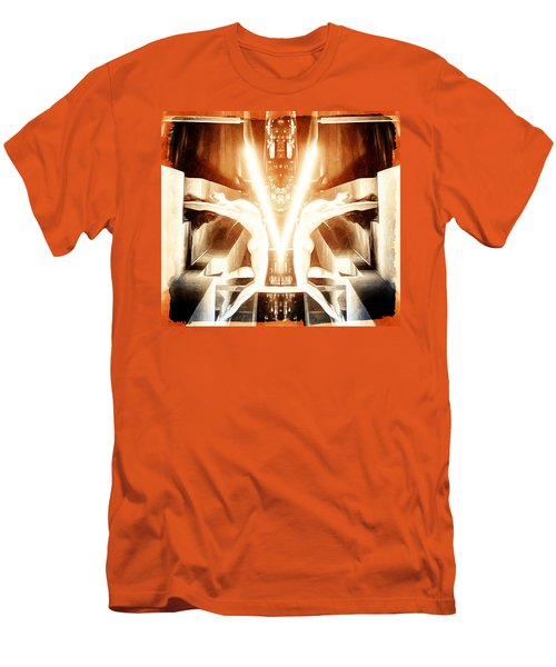 V For Victory Men's T-Shirt (Slim Fit) by Andrea Barbieri
