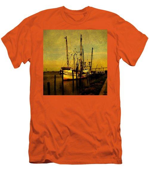 Waiting For Tomorrow Men's T-Shirt (Slim Fit) by Susanne Van Hulst