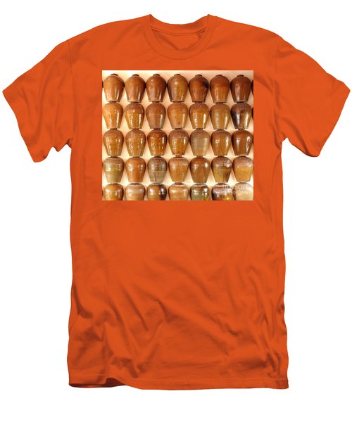 Wall Of Ceramic Jugs Men's T-Shirt (Slim Fit)