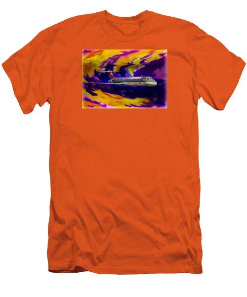 Warp 7 Men's T-Shirt (Slim Fit) by J Griff Griffin