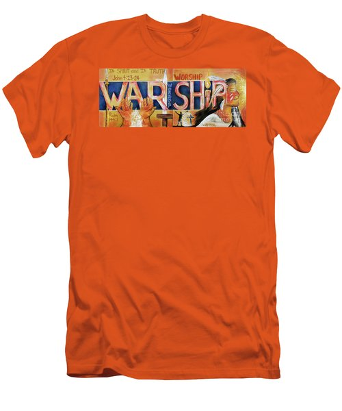 Warship Men's T-Shirt (Athletic Fit)