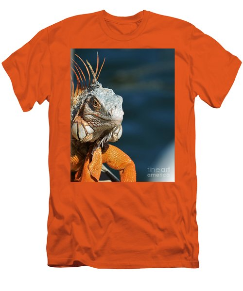 Men's T-Shirt (Slim Fit) featuring the photograph Watchful Eye by Pamela Blizzard