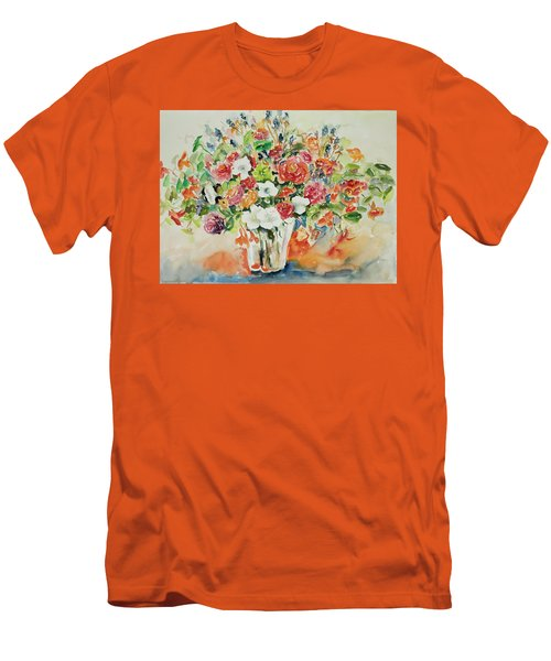 Watercolor Series 23 Men's T-Shirt (Athletic Fit)