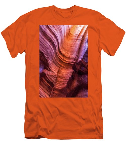 Waterholes Canyon Ribbon Candy Men's T-Shirt (Athletic Fit)