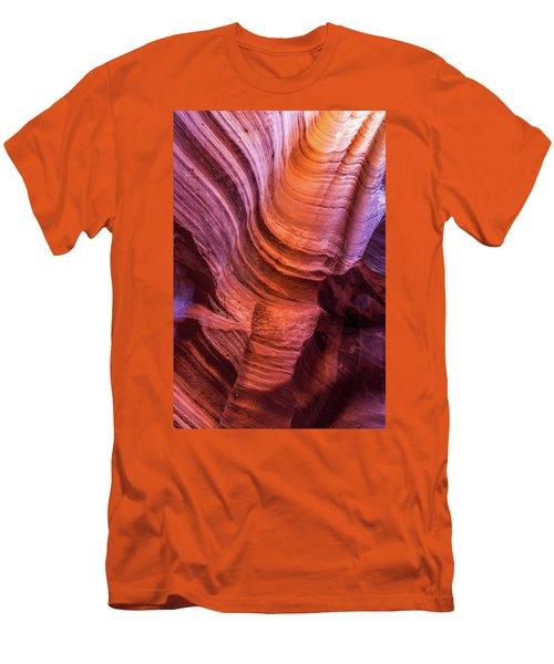 Waterholes Canyon Ribbon Candy Men's T-Shirt (Athletic Fit)