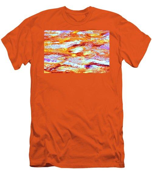 Waves Of Light Men's T-Shirt (Athletic Fit)