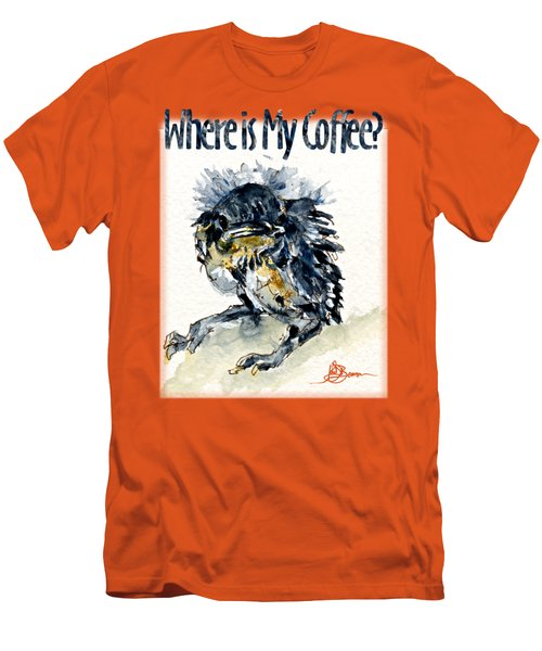 Where Is My Coffee Shirt Men's T-Shirt (Athletic Fit)