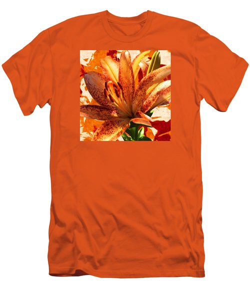 Wild Beauty With Freckles Men's T-Shirt (Slim Fit) by Gabriella Weninger - David