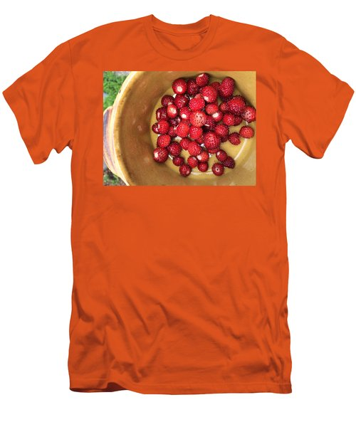 Wild Strawberry Men's T-Shirt (Athletic Fit)