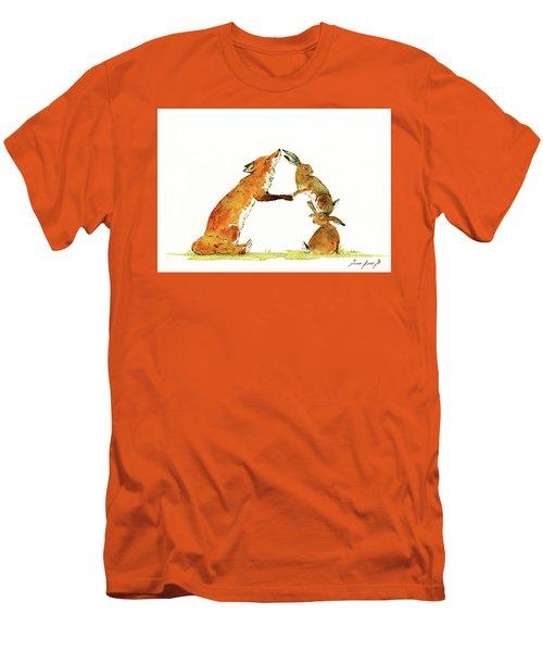 Woodland Letter Men's T-Shirt (Athletic Fit)
