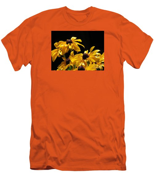 Yellow Flower 2 Men's T-Shirt (Athletic Fit)