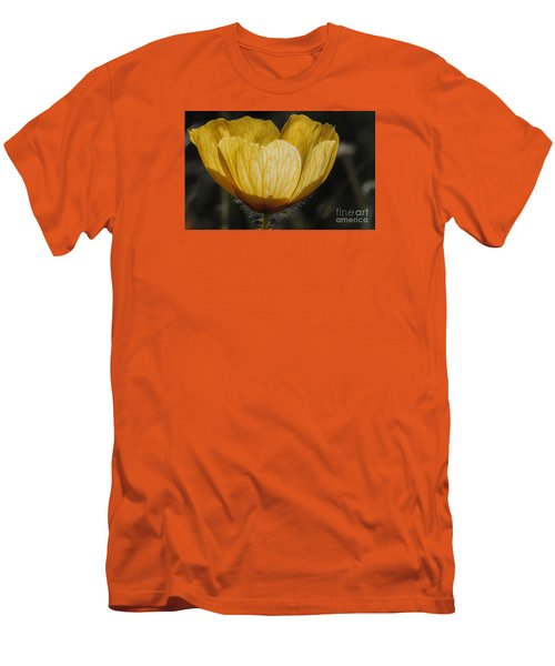 Yellow Flower 4 Men's T-Shirt (Athletic Fit)
