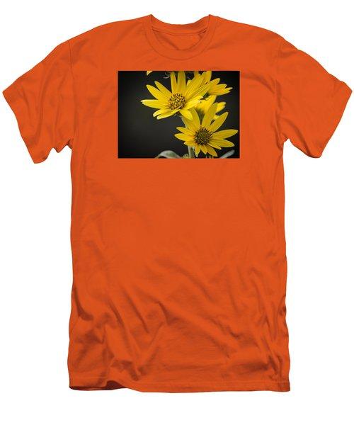 Yellow Men's T-Shirt (Slim Fit)