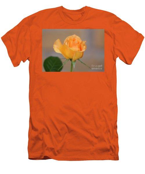 Yellow Rose Of Texas Men's T-Shirt (Slim Fit) by Joan Bertucci