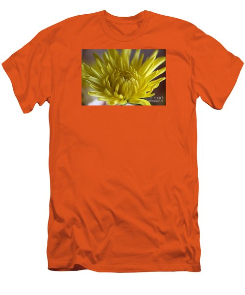 Men's T-Shirt (Slim Fit) featuring the photograph Yellow Yellow by Yumi Johnson