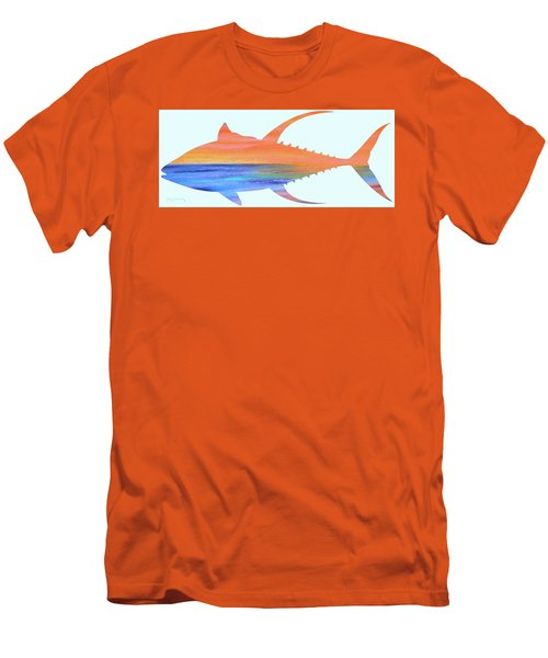 Yellowfin Sunset Beach Men's T-Shirt (Athletic Fit)