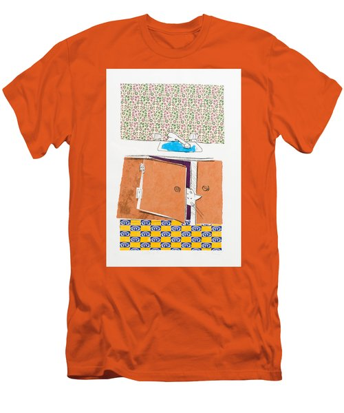 You Looking For Me Men's T-Shirt (Slim Fit) by Leela Payne