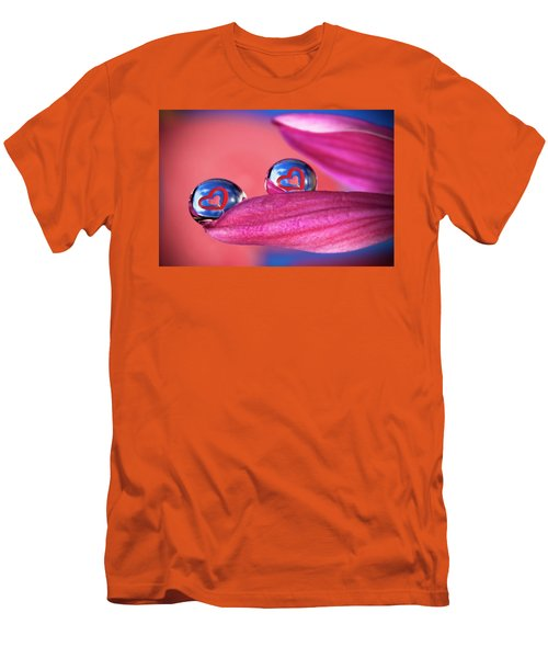 Men's T-Shirt (Slim Fit) featuring the photograph Your Heart My Heart by William Lee