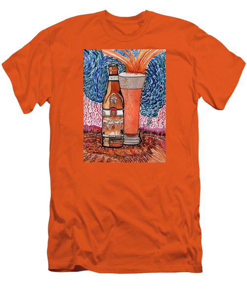 Yum Burr Hyf. Beer Men's T-Shirt (Athletic Fit)