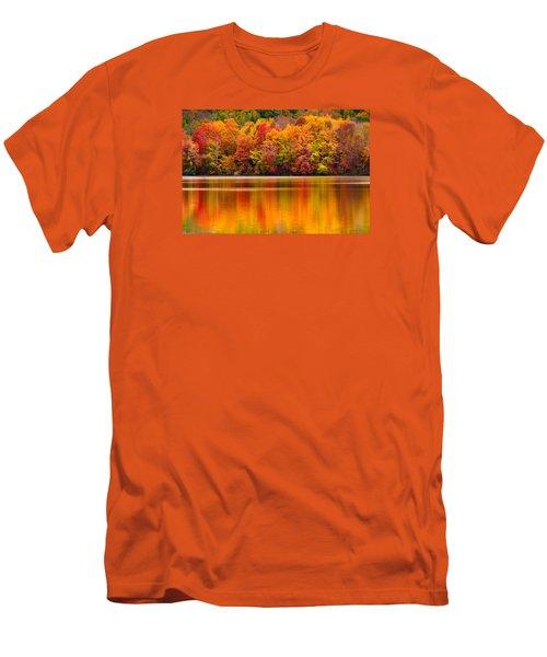 Yummy Autumn Colors Men's T-Shirt (Slim Fit) by Craig Szymanski